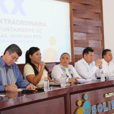 TENDRÁ SOLIDARIDAD CABILDO DE SUPLENTES: Piden licencia Cristina Torres y siete regidores en Playa