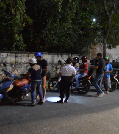 'Mucho ruido y pocas nueces' con operativo en Cozumel