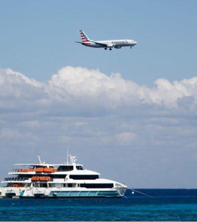 """SE SUMA REINO UNIDO A LAS ALERTA DE VIAJES: Por explosión en barco, piden a turistas ingleses """"mantenerse vigilantes"""" al visitar Playa del Carmen"""