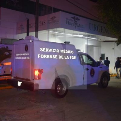 ARTERA EJECUCIÓN EN PLAYA MED: Sicarios ingresan a hospital privado en Cancún y matan a un interno del Cereso, presunto líder del Cártel del Golfo en la plaza, y a su pareja sentimental