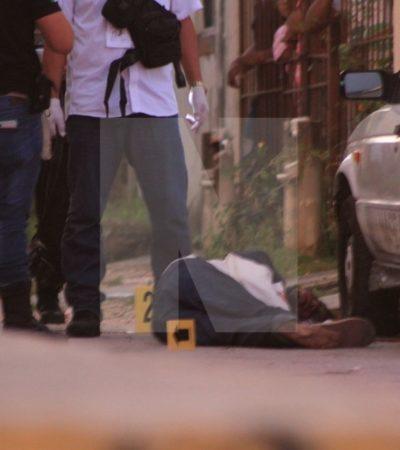 AMANECE CANCÚN CON CUARTO EJECUTADO EN MENOS DE 12 HORAS: Esta madrugada matan a balazos a una persona en la Región 259