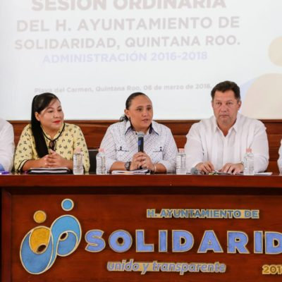 Aprueba Cabildo de Solidaridad donar predio para construir el Instituto Tecnológico en Puerto Aventuras