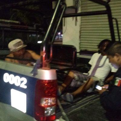 Pleito entre borrachos deja un lesionado en Chetumal