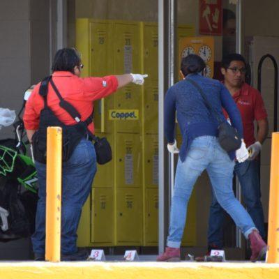 Asalto en Coppel de Plaza Las Américas en Cancún