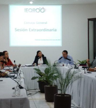 CINCO Y SÓLO CINCO: Aprueba Ieqroo validez de candidaturas independientes en Quintana Roo