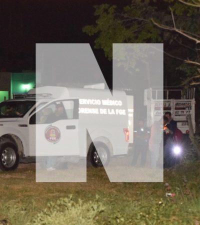UN EJECUTADO MÁS ANTES DE LA MEDIANOCHE: Cierra el jueves con tres personas asesinadas y el hallazgo de una osamenta; suman 74 casos en Cancún en 2018