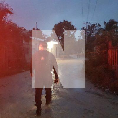 EJECUTADO A BALAZOS EN LA COLONIA 'EL SHERIFF': Suman 75 personas asesinadas en lo que va del año en Cancún