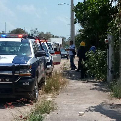 Sorprende la muerte a un hombre en calles de Chetumal