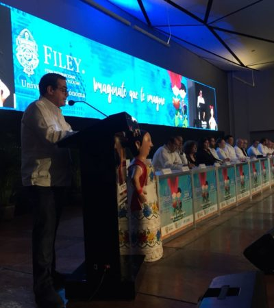 ARRANCA LA FILEY: Mérida se convierte en lacapital nacional de la lectura