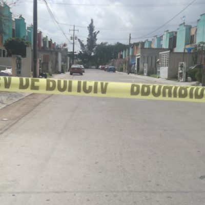SIGUE LA VIOLENCIA EN CANCÚN: Ejecutan a una mujer y una niña de 2 años resulta herida por las balas en el fraccionamiento Los Héroes de la Región 222