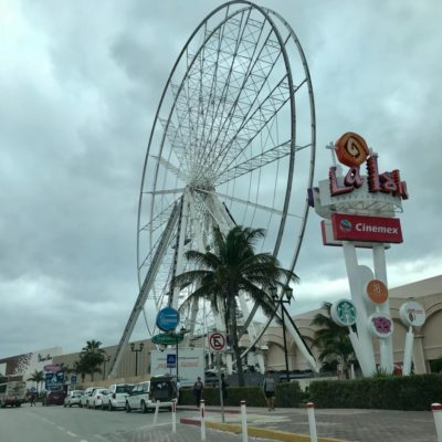 Hasta dentro de ocho meses girará 'La Rueda de la Fortuna' de Cancún