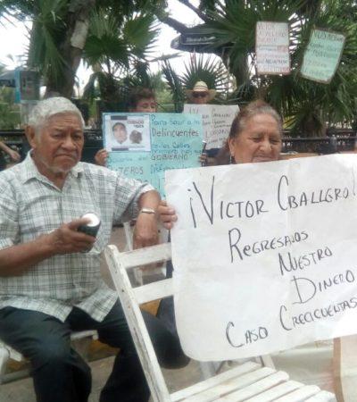 """""""PEDIMOS NOS DEVUELVA NUESTRO DINERO"""": Afectados por 'Crecicuenta' reclaman apoyo a Rolando Zapata"""