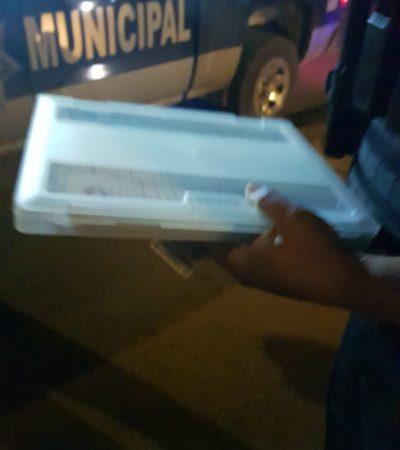 ¿ESTRENAN NUEVO FORMA DE EXTORSIÓN EN LAS CALLES DE CANCÚN?: Utilizan Policías Preventivos boletas de Tránsito para 'doblar' a conductores