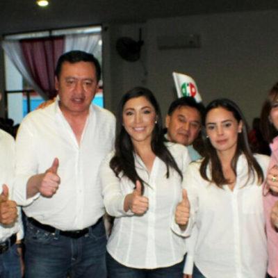 LLEGA CHONG PARA DAR ESPALDARAZO A CANDIDATOS: Se reúne ex secretario de Gobernación con priistas y verdeecologistas para cerrar filas de cara a la elección