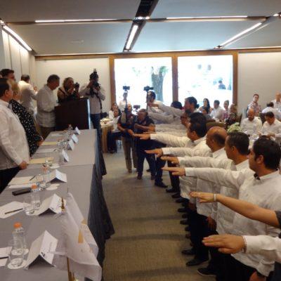 Asume funciones nueva dirigencia de Canaco en Cozumel