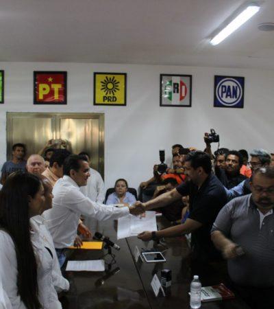 QUIERE MIGUEL RAMÓN VOLVER POR SUS FUEROS: Se registra ex jefe de la Oficina del Gobernador como candidato a diputado por el distrito 01