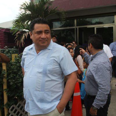 """""""NO VOY A HABLAR DEL CONGRESO, ES MI DÍA DE DESCANSO"""": Martínez Arcila acude al registro de candidatos del 'Frente'"""