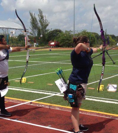 DominaMéxico a Cuba en tiro con arco, efectuado en Cancún