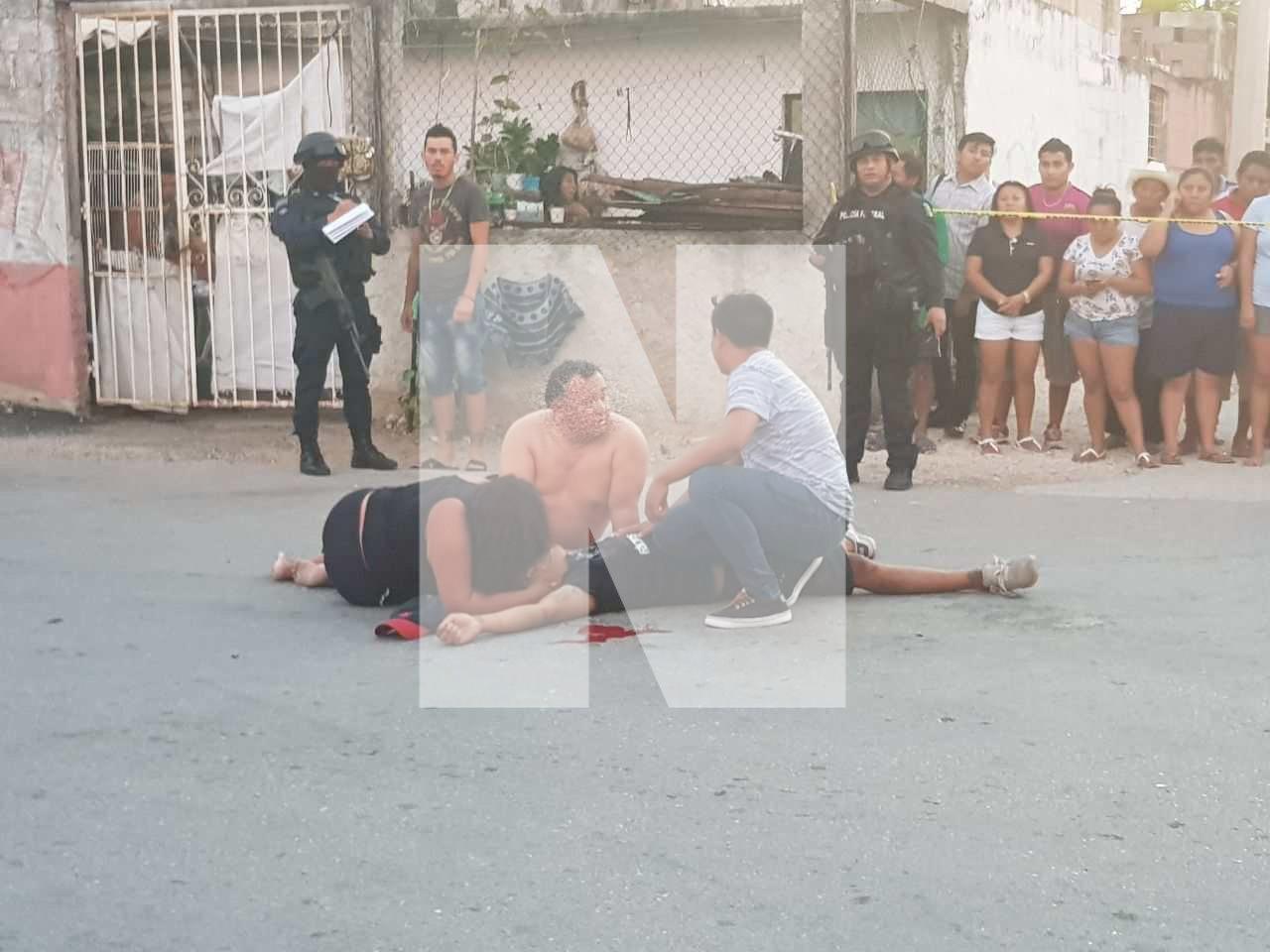PRELIMINAR | EJECUTADOS EN LA REGIÓN 95: Matan a balazos a dos personas cerca de la Avenida Industrial de Cancún