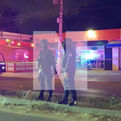 SIGUE LA OLA DE VIOLENCIA EN LA ZONA NORTE DE QR: Ejecutan a un hombre en bar de la Avenida Rancho Viejo