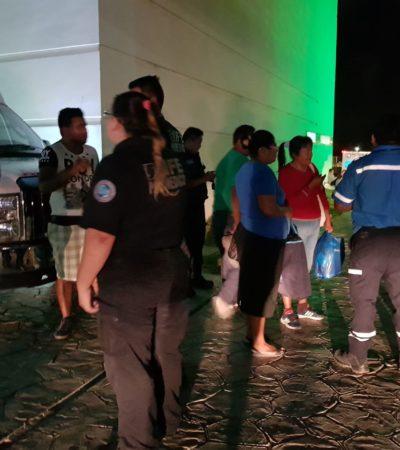 Ante falta de médicos, retienen a paramédicos en Hospital de Cancún
