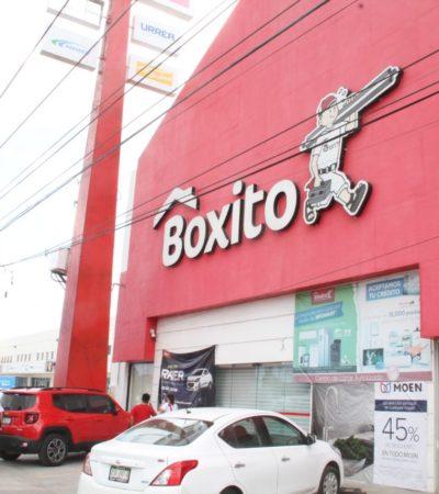DAN GOLPE COMERCIAL A BOXITO POR 'PIRATAS': Clausura IMPI tiendas de la cadena yucateca en Mérida, Cancún, Playa, Cozumel y Chetumal