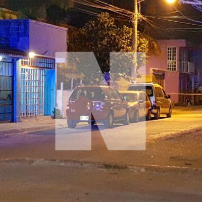 BALEAN A TAXISTA Y SU HIJA EN LA REGIÓN 217: Intento de ejecución en el fraccionamiento La Guadalupana de Cancún