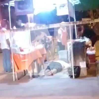NUEVO ATAQUE A BALAZOS EN CANCÚN: Ejecutan a un vendedor de empanadas y hieren a un cliente en la Región 520