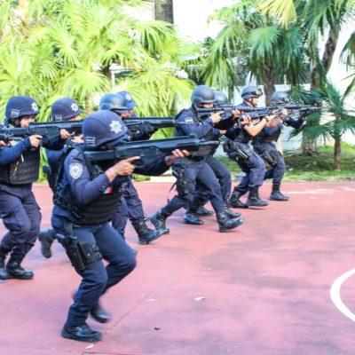 ¡WOOOW! ESCUADRÓN 'S.W.A.T.' ¿REGIÓN 4?: Capacitan a policías estatales para situaciones de alto riesgo