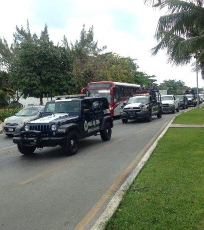 Dan banderazo de salida a operativo de seguridad 'Semana Santa' en Cancún