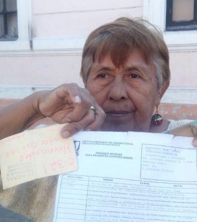 MADRE RECLAMA JUSTICIA EN MÉRIDA: Asu hijo lo atropellaron y el responsable huyó