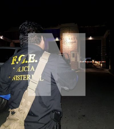 Presunta disputa por la propiedad del hotel 'Secrets Silversand' en Puerto Morelos moviliza a fuerzas de seguridad