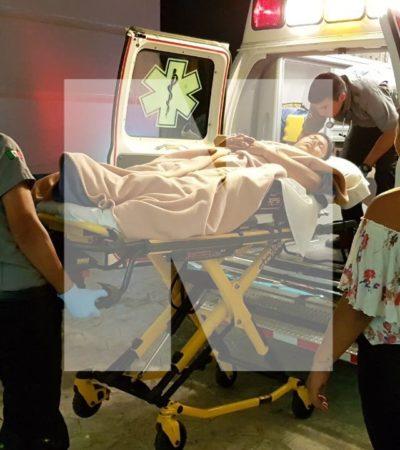 BALEADO EN CANCÚN EN 'JUEVES SANTO': Disparan contra un hombre en la SM 308 de Bonfil