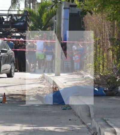 SIGUEN LAS EJECUCIONES EN 'VIERNES SANTO': Matan a balazos a dos hermanos taqueros en la Región 234 de Cancún