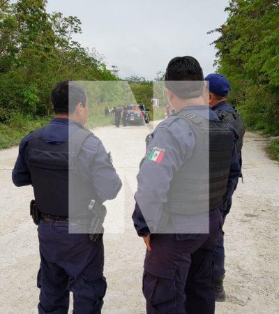 HALLAN A PRESUNTO EJECUTADO EN TRES REYES: Encuentran cuerpo de un hombre en colonia irregular de Cancún