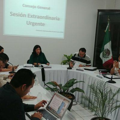 JUNTOS AUNQUE ANDEN A LA GREÑA: Confirma Ieqroo que alianza Morena-PES-PT sigue sin cambio al igual que el reparto de municipios