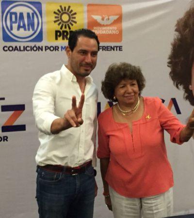 El futuro de Yucatán está en manos de la gente, dice Ana Rosa Payán