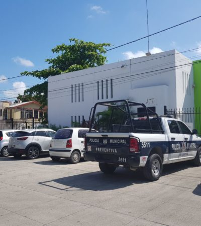 ATRACAN AL AYUNTAMIENTO: Roban 700 mil pesos de oficinas de Zofemat en Cancún… y huyen