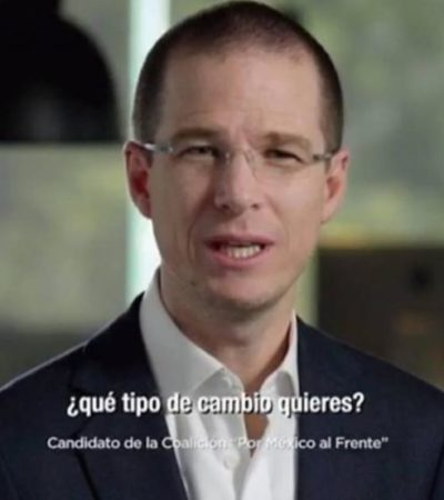 """Ricardo Anaya es """"el candidato del futuro"""" en sus nuevos spots"""