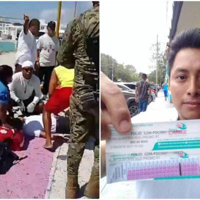 INTERPONE PASAJERO LESIONADO DEMANDA CONTRA BARCOS CARIBE: No aplicaron seguro y hubo traslado selectivo de heridos, denuncia