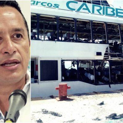 """""""CONTRA TODOS QUIENES AQUÍ VIVIMOS"""": Acto de desestabilización, deduce el Gobernador sobre explosión en Barcos Caribe"""