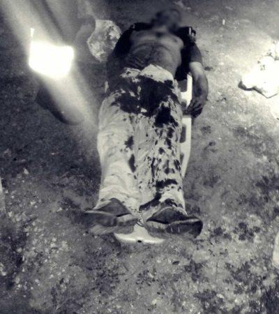 Por venganza, hieren de bala a hombre dos veces en poblado fronterizo con Belice