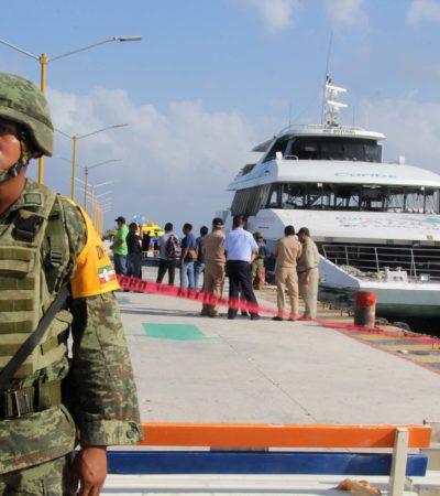 SECUELAS DEL CASO BARCOS CARIBE | UN ERROR, EXHIBIR POR DÍAS EMBARCACIÓN A OJOS DEL TURISMO: Critican el dejar correr versiones no sustentadas sobre explosión en muelle de Playa del Carmen