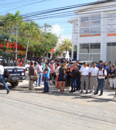 LLAMAN Y ROBAN: Falsas alarmas de bomba, estrategia distractora de presuntas bandas de delincuentes en Cancún