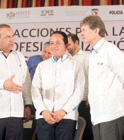 Tras reunión con dirigente panista, Carlos Joaquín reitera que no hay injerencia en decisiones del 'Frente'
