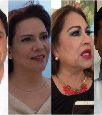 """VAN TRES DE MORENA Y UNO DEL PES: Alianza """"Juntos haremos historia"""" presenta candidatos a diputados federales y Senado"""