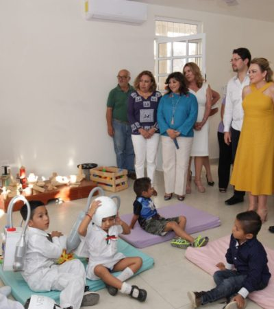 Inauguran CIPI y Centro Comunitario DIF en Villas Otoch Paraíso en Cancún
