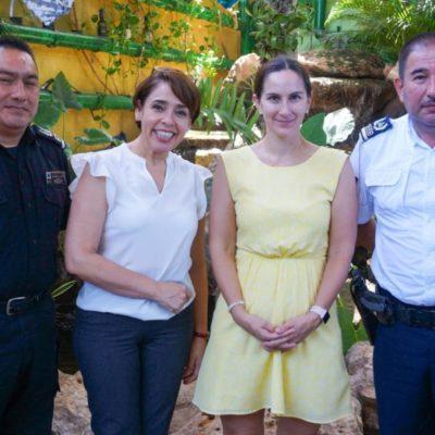 Puerto Morelos estrecha lazos de colaboración con representantes consulares de Gran Bretaña y Canadá