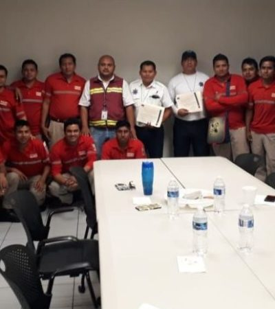 Fomentan cultura vial para prevenir accidentes viales en Puerto Morelos