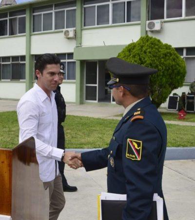 Atestigua Alcalde de BJ toma de posesión de nuevo jefe de guarnición militar de Cancún
